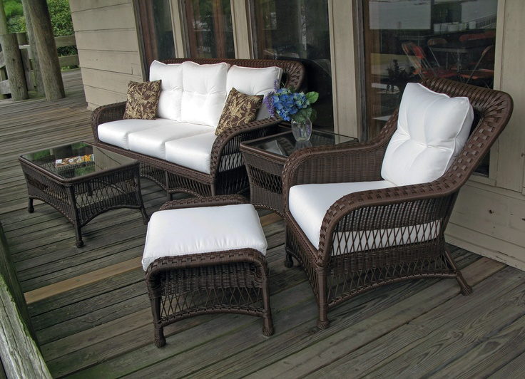 Outdoor Wicker Set Princeton Collection | Wicker Paradise Pinned By  Wickerparadise.com