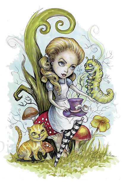 Alice in Wonderland by Diana Levin