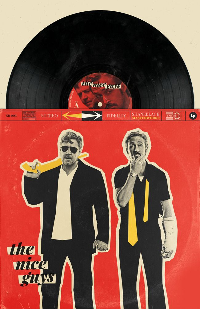 The Nice Guys by William Henry #LogoCore | Poster Designs in