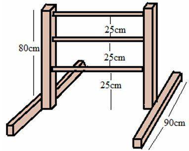 Leitergolf Bauzeichnung 1
