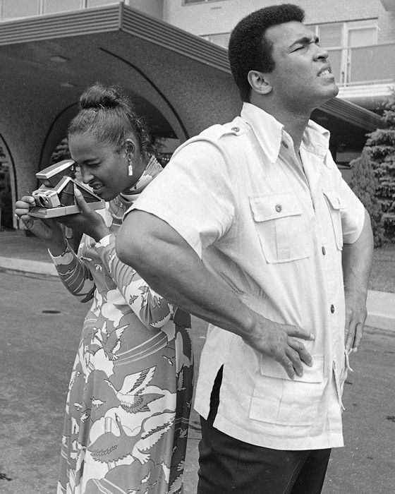 Muhammad Ali and 2nd wife Khalilah