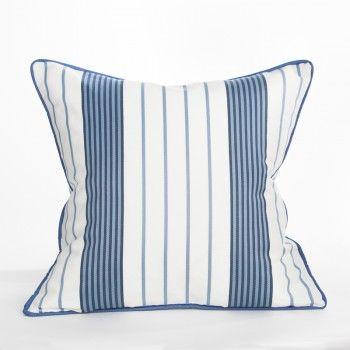 Hyannis Stripe Pillow Cape Cod Collection Coastal
