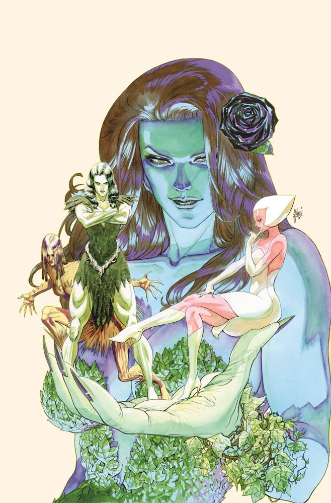 poison ivy swamp thing art - - Yahoo Image Search Results