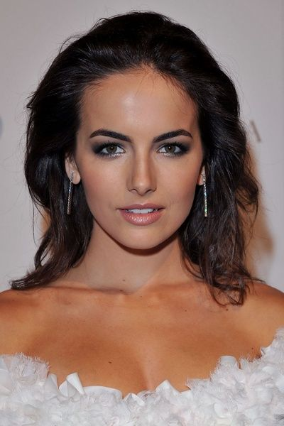 Camilla Belle - slicked back #hair