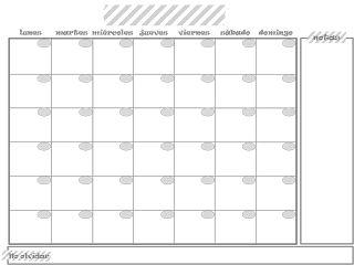 M s de 25 ideas incre bles sobre calendario mensual blanco for Planificador habitaciones