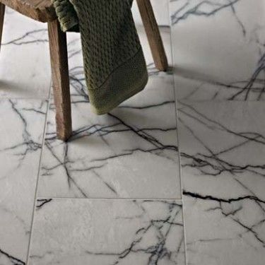 Diamond Sawn Edge, Polished - Georgica Pond Marble - Wall & Floor Tiles | Fired Earth