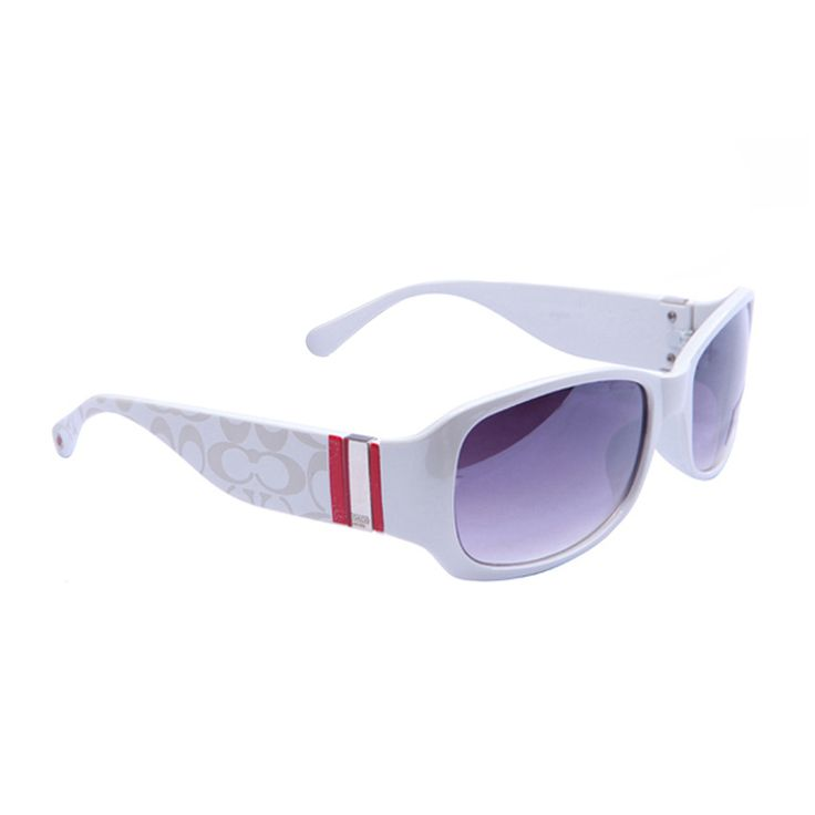 Coach Pamela White Sunglasses