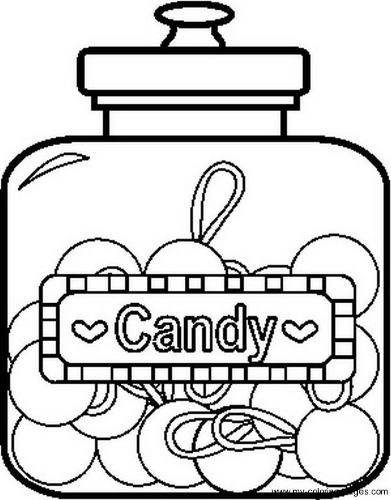 19 best Sweet, candy coloring images on Pinterest | Candy ...