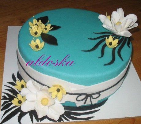 DORTY A SLADKOSTI aneb PEČEME S LÁSKOU - Fotoalbum - -MOJE PEČENÍ- - MOJE DORTY - My cakes - Asijský styl pro moji kosmetičku Andrejku