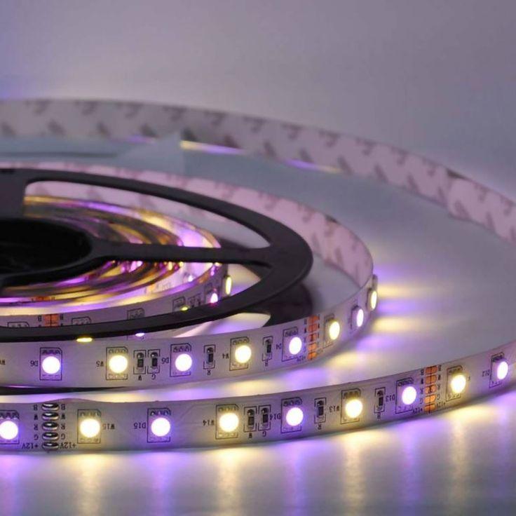 SKAPETZE -    10 Meter LED Strip-Set / 12V 14,4W / Funk-Controller+FB / RGB Warmweiss Innenleuchten LED-Strips Komplettsets