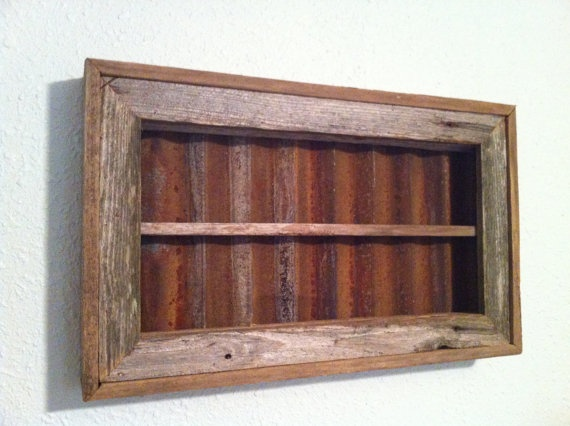 Rustic Display Case
