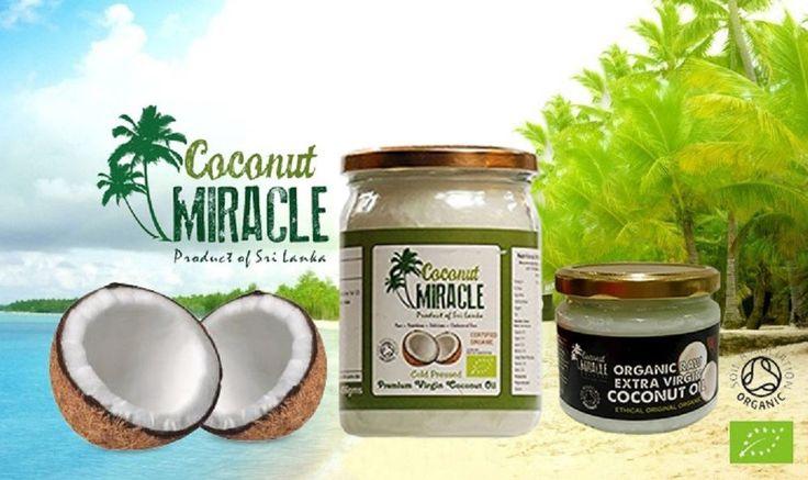 Pure Organic Extra Virgin Coconut Oil 500ml Cold Pressed Unrefined  #coconutoil #coconutwater #srilanka #skincare #hair