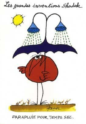 Parapluie pour temps sec
