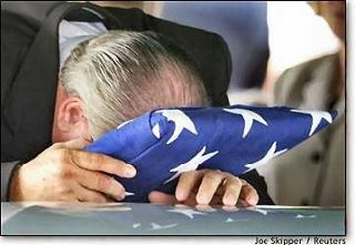 The only thing worse than losing a child in the service of our country is losing a child to an ungrateful nation.