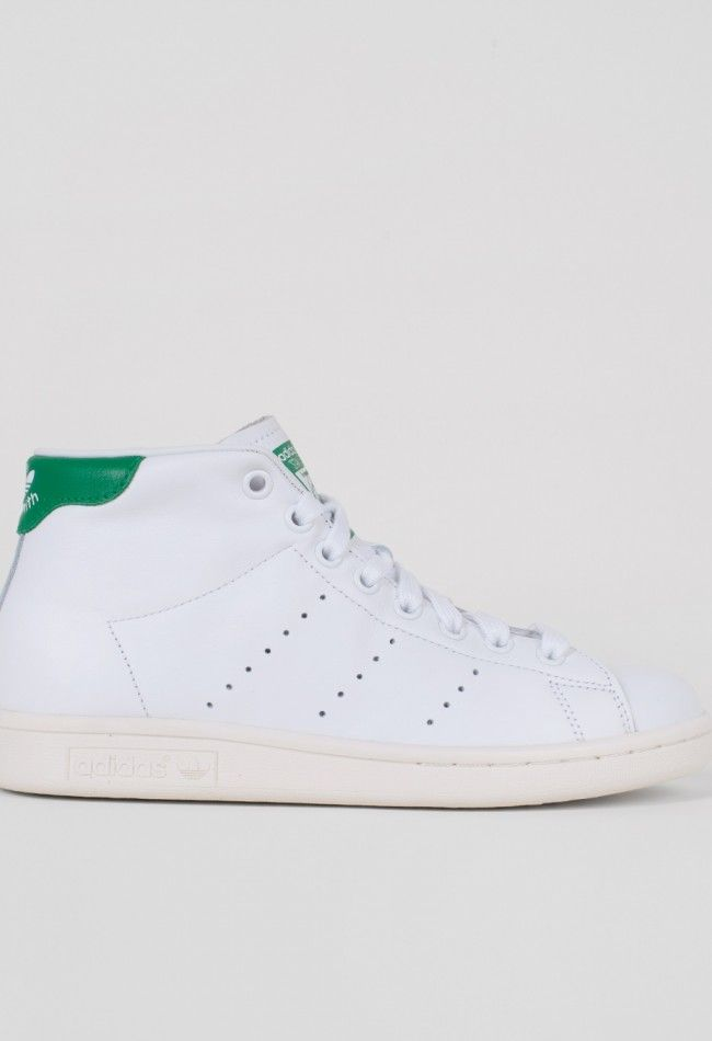 Adidas Stan Smith Mid White/Green – Voo Store
