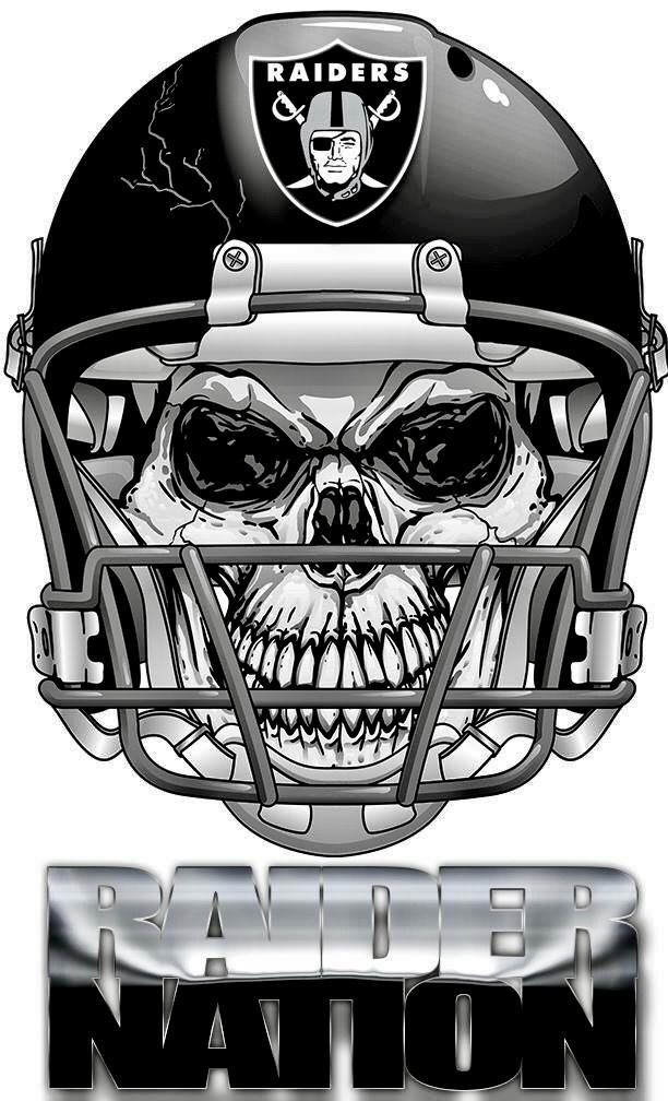 Oakland Raiders Nail Art: Best 25+ Oakland Raiders Logo Ideas On Pinterest