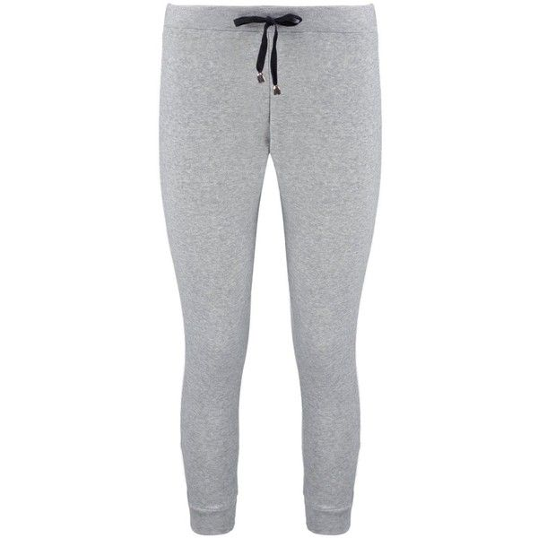 Boohoo Petite Jessy Contrast Stripe Sweat Jogger ($20) ❤ liked on Polyvore featuring activewear, activewear pants, petite activewear pants, basic t shirt, basic tshirt, petite activewear and basic tee shirts