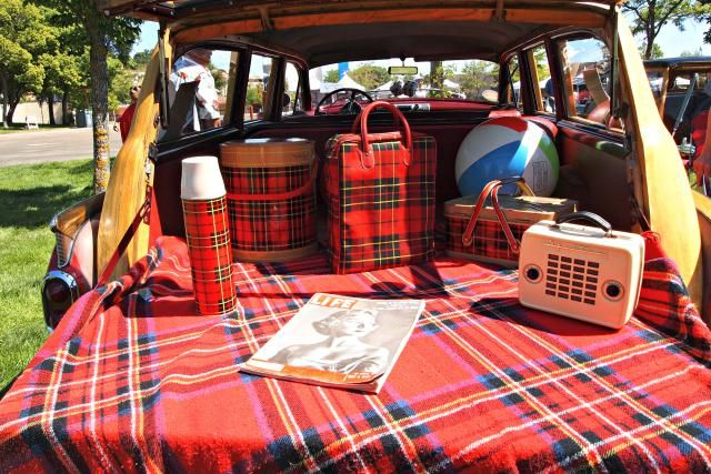 Vintage Tailgating - Tailgate Party Ideas and Gear: Vintage Skotch Plaid Tailgate Gear
