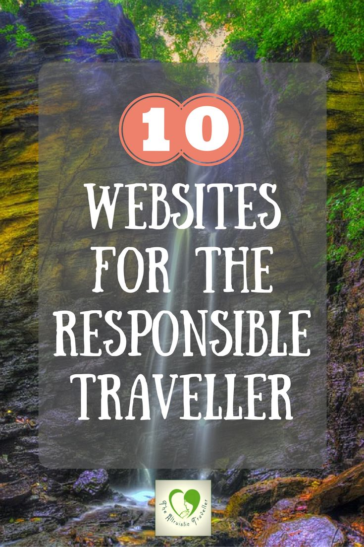 10 Websites For The Responsible Traveller