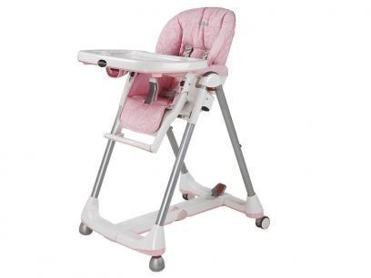 Cadeira de Papinha Peg-Pérego Prima Pappa Diner - 7 Posições de Altura para Crianças até 15Kg com as melhores condições você encontra no Magazine Raimundogarcia. Confira!