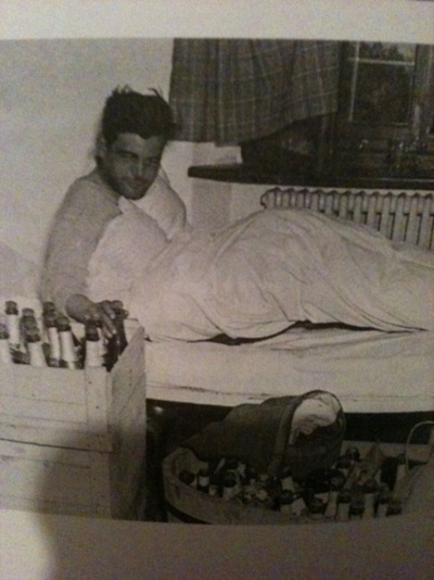 Capt. Lewis Nixon the morning after V-E Day.