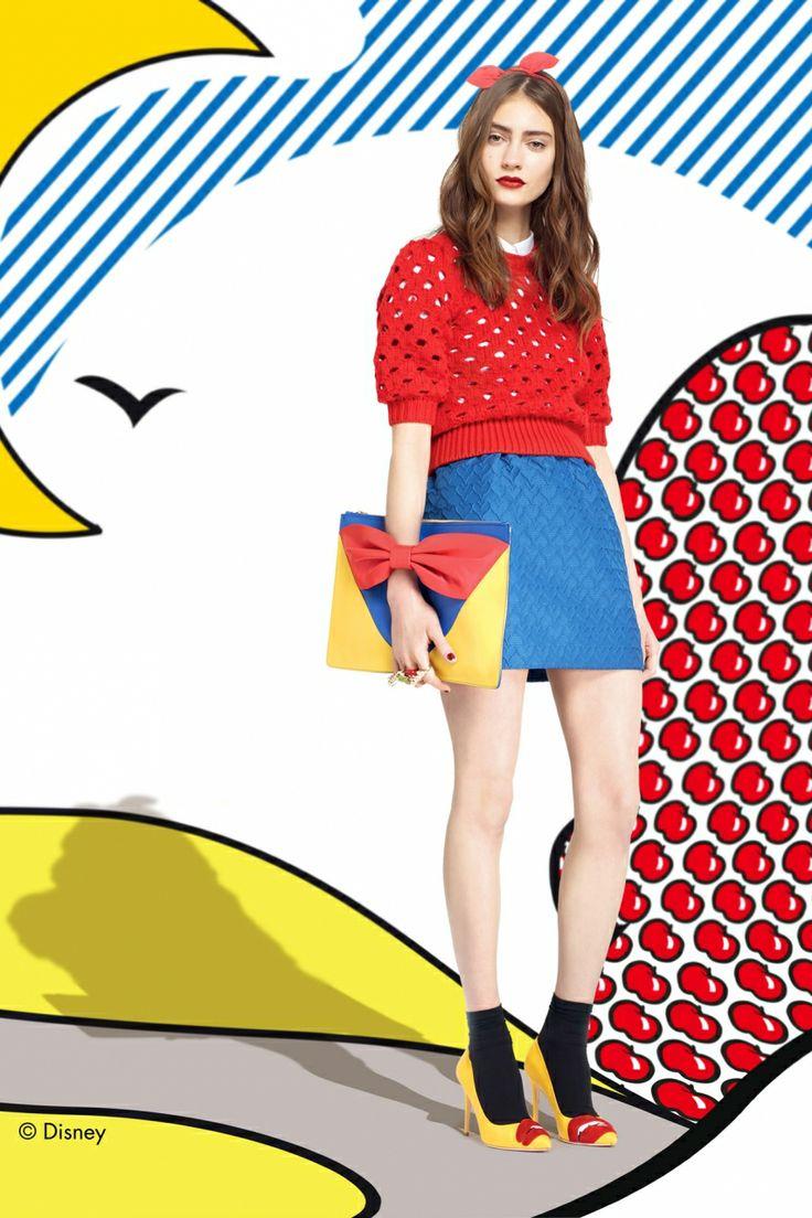 Образ Белоснежки вдохновил дизайнеров Red Valentino на создание осенне-зимней коллекции.