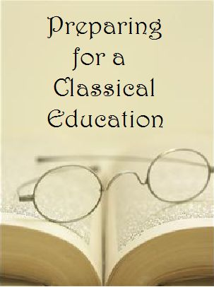 Homegrown Learners - Home - Preparing for a Classical Education - ways we can start training the little ones for learning the classical style.