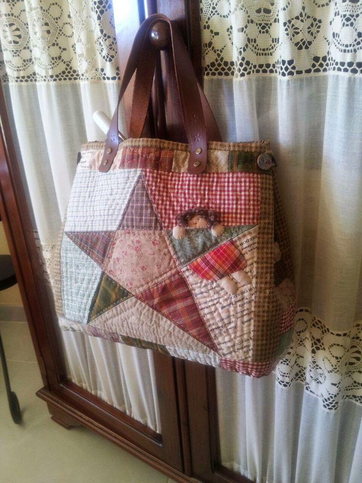 M s de 25 ideas fant sticas sobre bolsos patchwork en - Manualidades patchwork bolsos ...