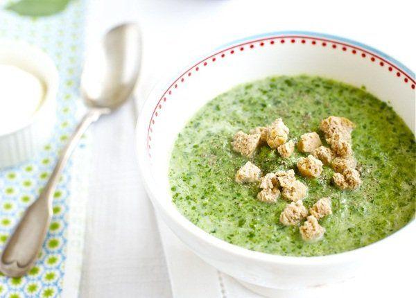 суп из шпината замороженного с яйцом рецепт с фото