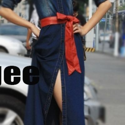 like! <3 #dress #jeansdress