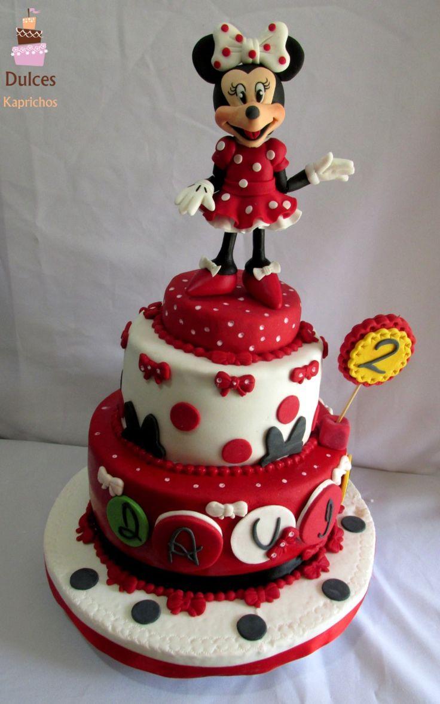 Torta Minnie #TortaMinnie #TortasDecoradas