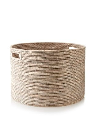 78% OFF Matahari Round Handwoven Open Storage Basket