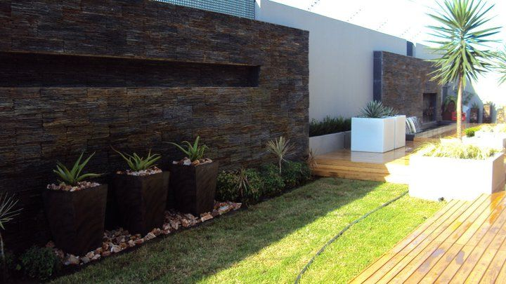 Revamping-addition of pots along the wall