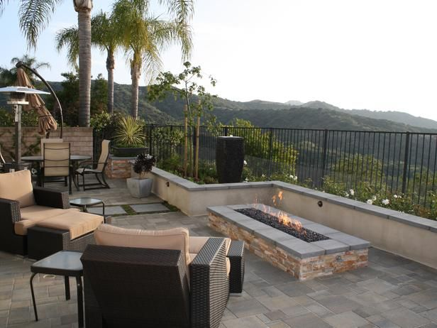is rectangular the new round in firepits?