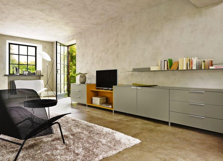 ligne roset everywhere low chest 3 drawers 2 doors. Black Bedroom Furniture Sets. Home Design Ideas