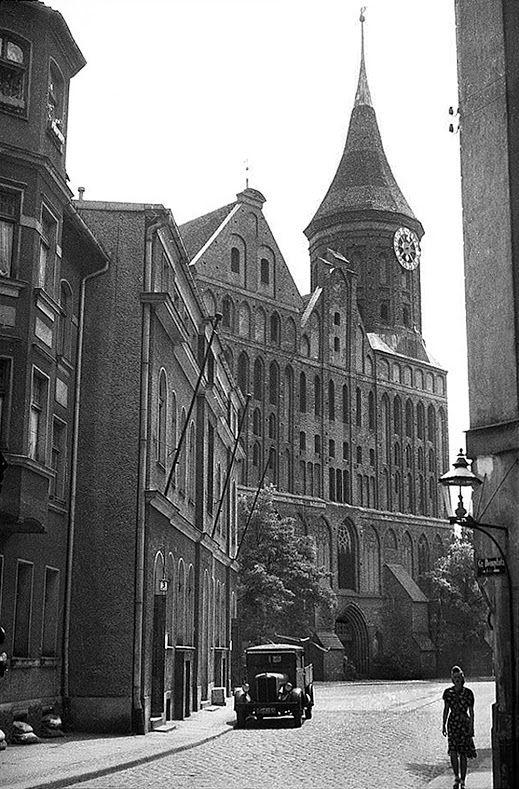 Königsberg Pr.   Dom, Kneiphof, Johann-Jacoby-Straße