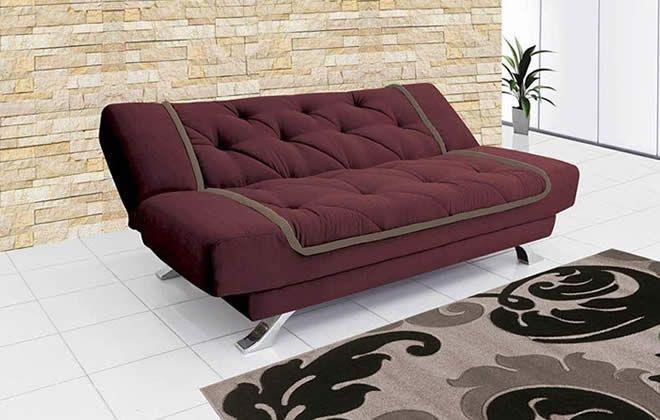 Seleção de sofás com até 46% de desconto na Lojas Marabraz. Vale a pena conferir!
