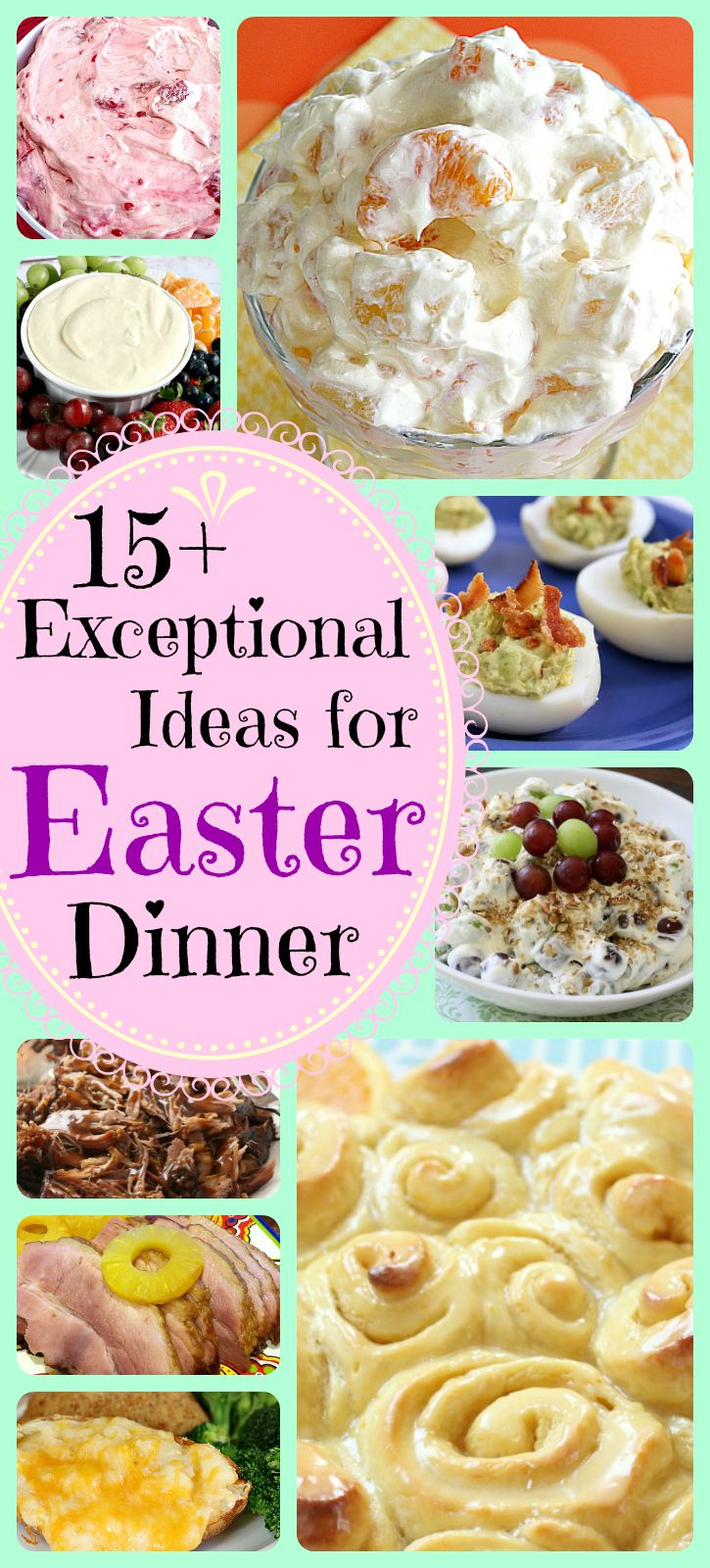 17 best ideas about easter food on pinterest traditional for What is a traditional easter dinner