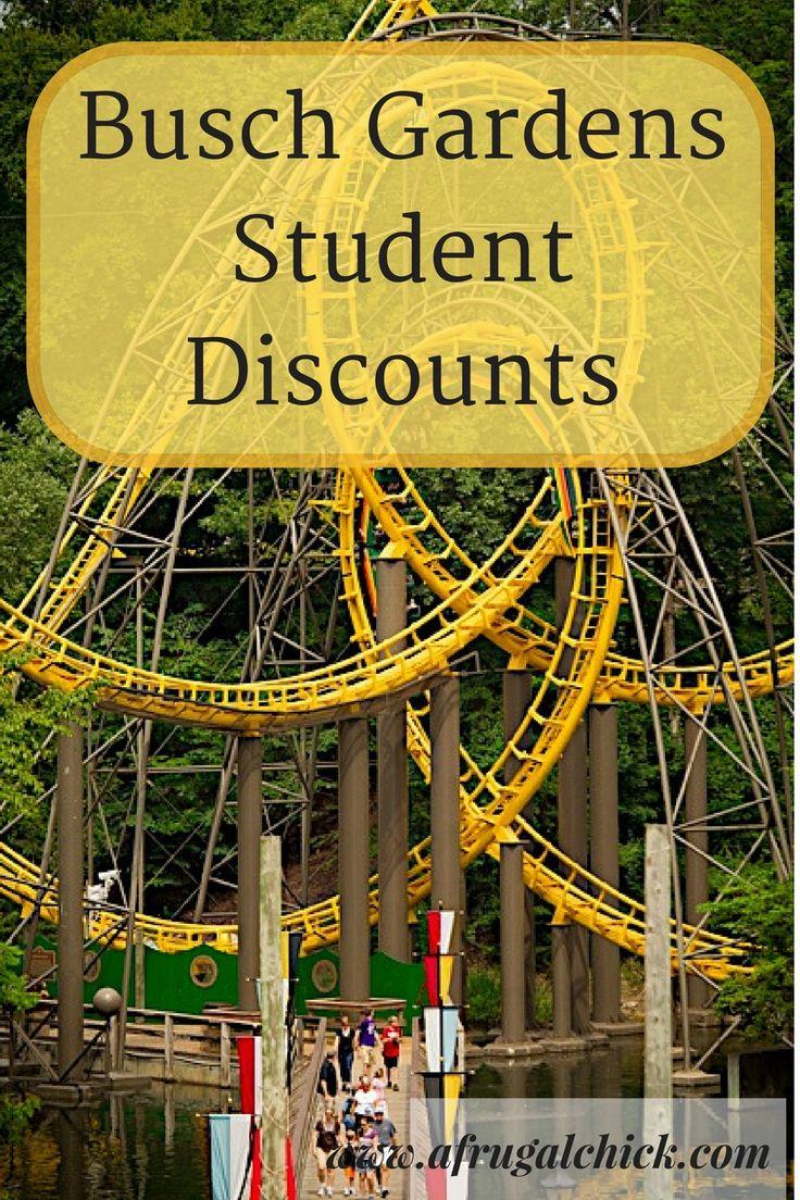 Busch Gardens Student Discount in 2020 Busch gardens