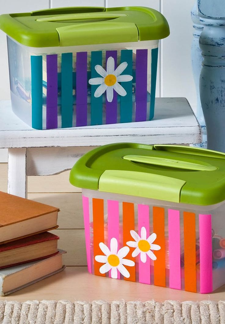 Get organized for back to school season with these striped for Garajes bien organizados