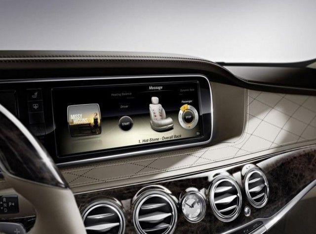 2014 Mercedes-Benz S-Class Interior unveiled