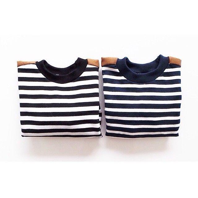 Little Trojan Basic Stripes Long Sleeves Top