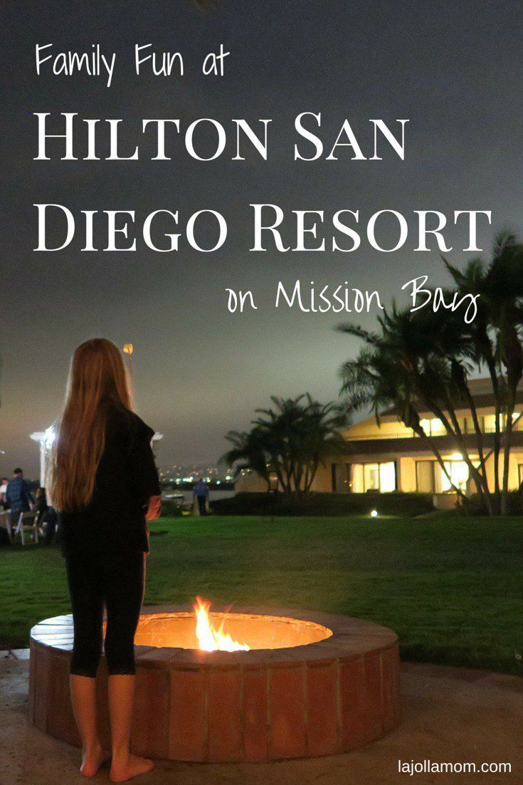 Hilton San Diego Resort and Spa on Mission Bay is excellent for families looking for a vacation or staycation.