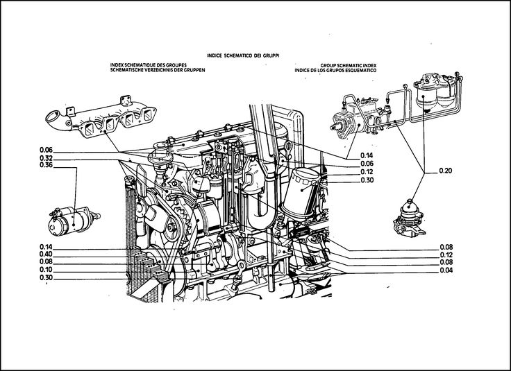 Fiat 766-766DT Parts Manual for Service Tractor Repair in