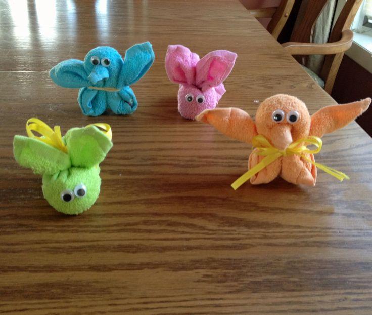 Baby washcloth animals figuras con toalla pinterest - Lonas de plastico ...