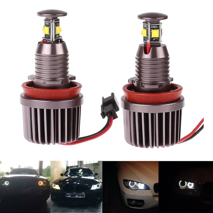 Angel Eyes Light Cree LED Chips 2x40W H8 for BMW E60 E61 E63 E64 E70 X5 E71 X6 E82 E87 E89 Z4 E90 E91 E92 M3 Angel Eyes light