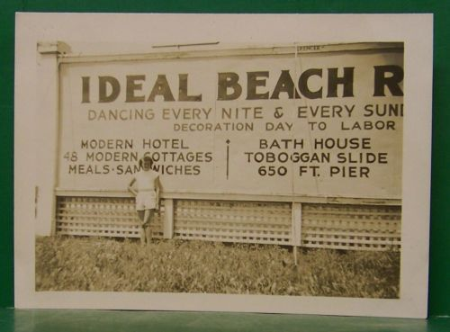 Monticello Indiana Ideal Beach 1949 Before It Was