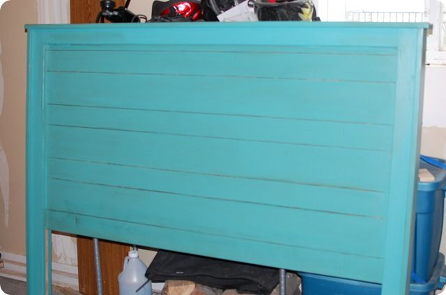 Colors and Instructions for the Turquoise Headboard