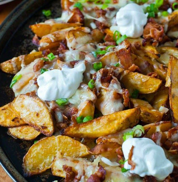 Loaded Pub Fries Recipe ~ Best Of Cooking