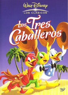 Pin On The Three Caballeros 1945